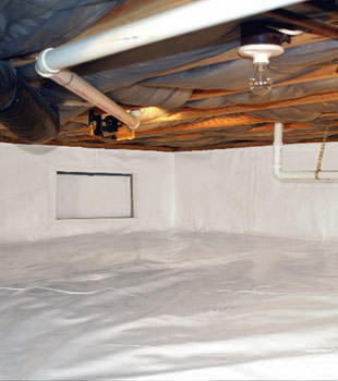 crawl space repair system in Garland